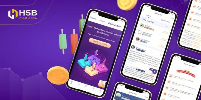 Aplikasi Trading Online Komunitas HSB